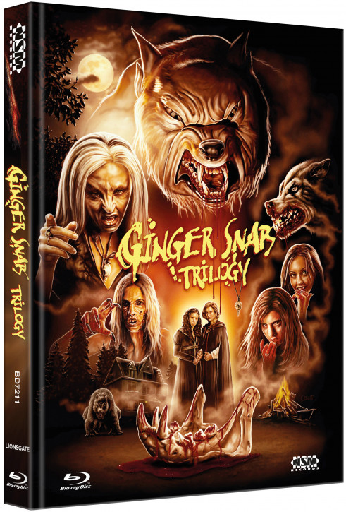 Ginger Snaps 1-3  - Limited Collector's Edition - [Blu-ray+DVD]