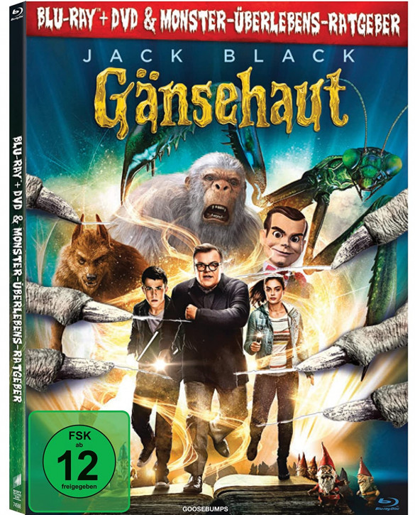 Gänsehaut - Mediabook [Blu-ray+DVD]