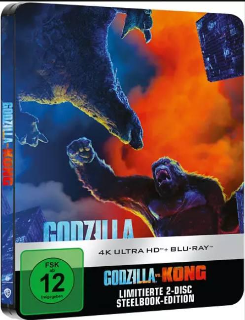 Godzilla vs. Kong - Steelbook [4K UHD+Blu-ray]