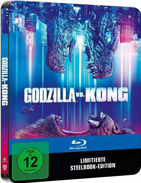 Godzilla vs. Kong - Steelbook [Blu-ray]