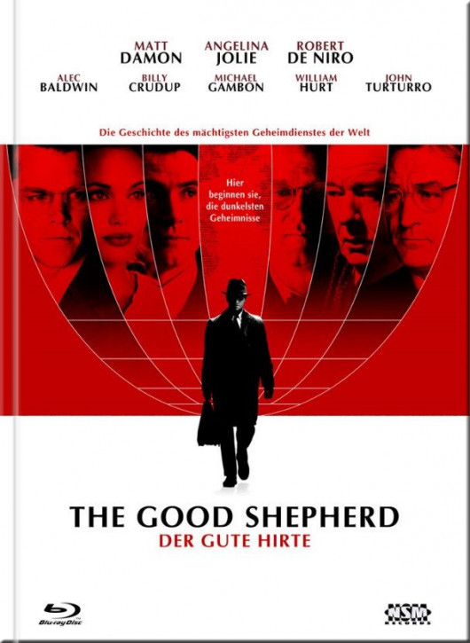 The good Shepherd (Der gute Hirte) - Limited Mediabook Edition - Cover A [Blu-ray+DVD]
