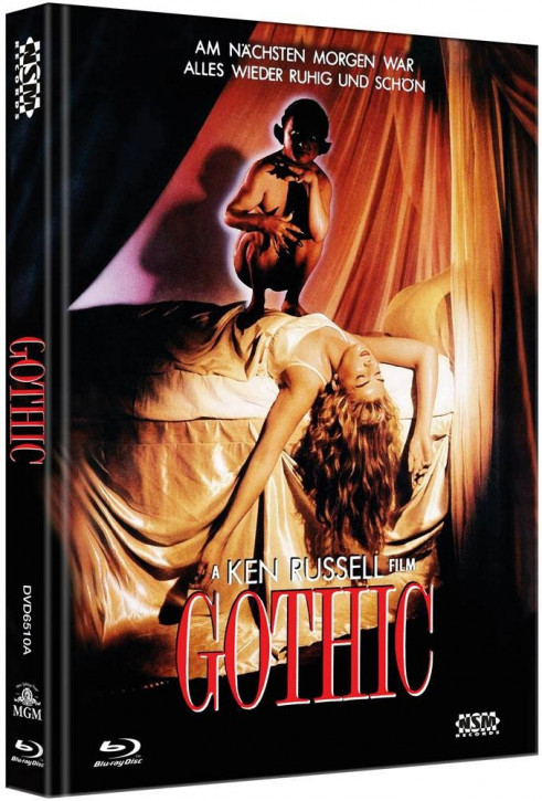 Gothic - Limited Collector's Edition - Cover A [Blu-ray+DVD]
