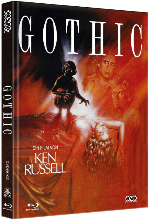 Gothic - Limited Collector's Edition - Cover D [Blu-ray+DVD]