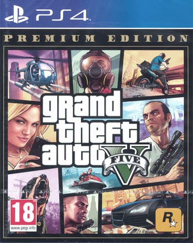 Grand Theft Auto V - Premium Edition (AT-Pegi) [PS4]