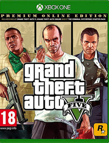 Grand Theft Auto V - Premium Online Edition (AT-Pegi) [Xbox One]