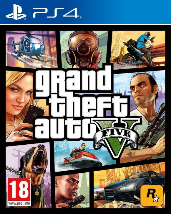 Grand Theft Auto V (AT-Pegi) [PS4]
