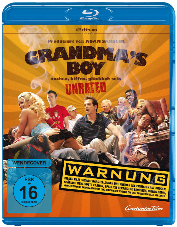 Grandma's Boy - Unrated [Blu-ray]
