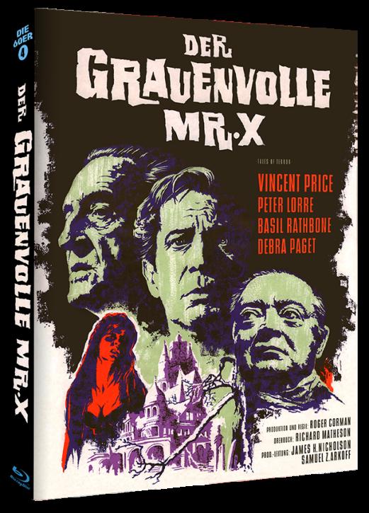 Der Grauenvolle Mr. X - Phantastische Filmklassiker Folge Nr. 8 - Cover A [Blu-ray]