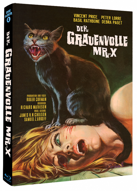 Der Grauenvolle Mr. X - Phantastische Filmklassiker Folge Nr. 8 - Cover B [Blu-ray]