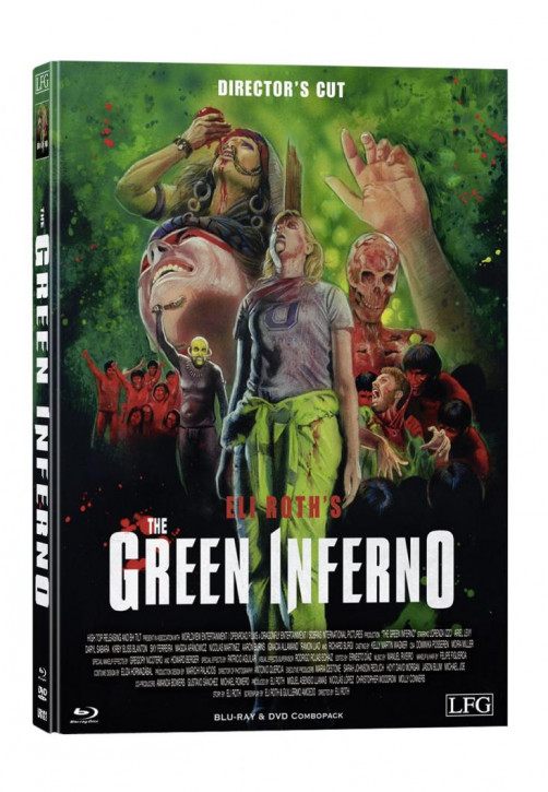The Green Inferno - Limited Mediabook Edition - Cover A [Blu-ray+DVD]