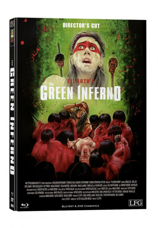 The Green Inferno - Limited Mediabook Edition - Cover B [Blu-ray+DVD]