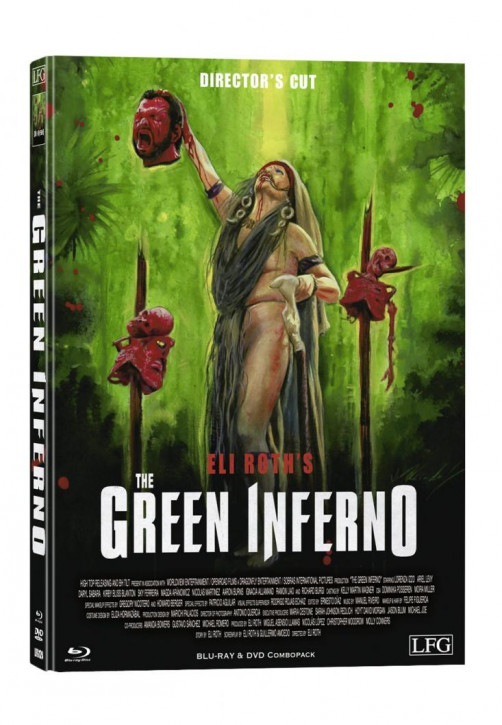 The Green Inferno - Limited Mediabook Edition - Cover C [Blu-ray+DVD]