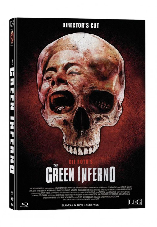 The Green Inferno - Limited Mediabook Edition - Cover D [Blu-ray+DVD]