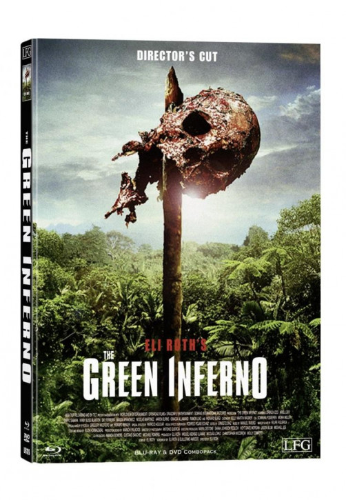 The Green Inferno - Limited Mediabook Edition - Cover E [Blu-ray+DVD]