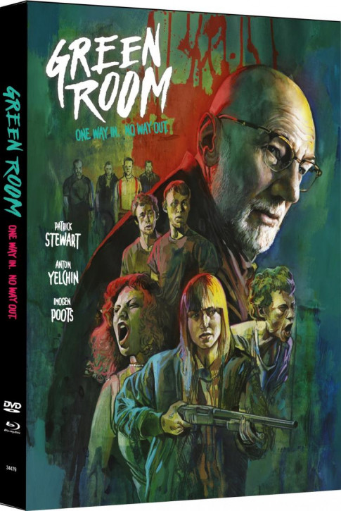 Green Room - Limited Mediabook Edition - Cover A [Blu-ray+DVD]