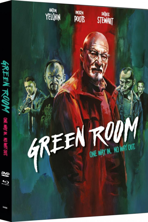 Green Room - Limited Mediabook Edition - Cover B [Blu-ray+DVD]