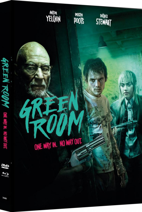 Green Room - Limited Mediabook Edition - Cover C [Blu-ray+DVD]