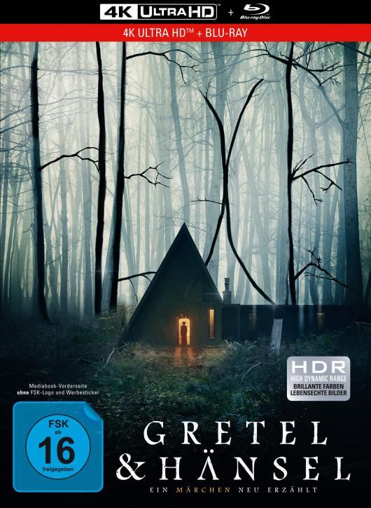 Gretel & Hänsel - Limited Mediabook Edition [4K UHD +Blu-ray]