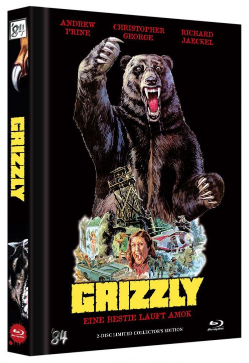 Grizzly - Eine Bestie läuft Amok - Limited Collectors Edition [Blu-ray+DVD]