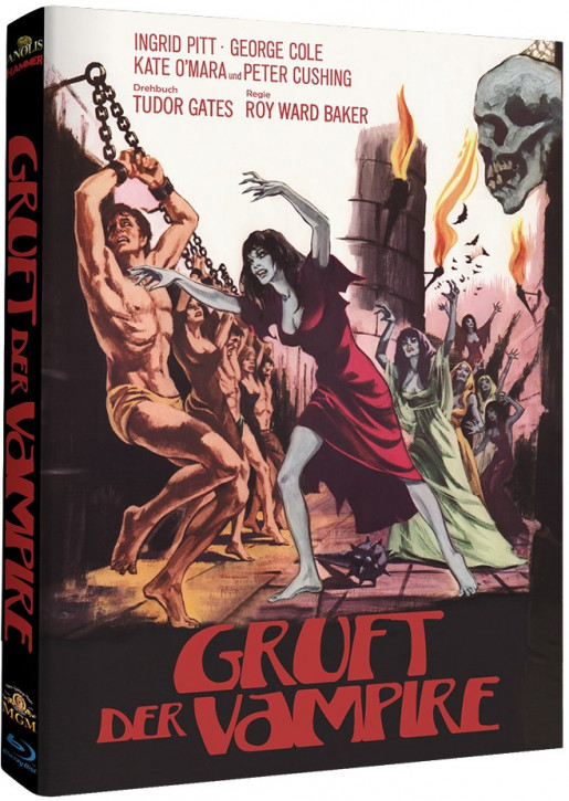 Gruft der Vampire - Hammer Edition Nr. 13 - Cover B [Blu-ray]