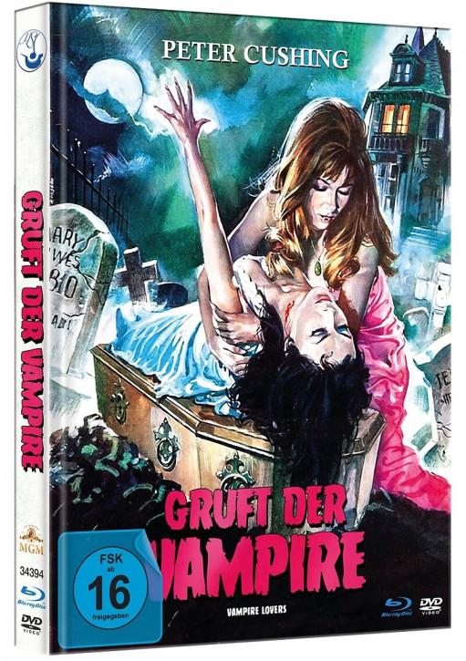 Gruft der Vampire - Limited Mediabook Edition [Blu-ray+DVD]