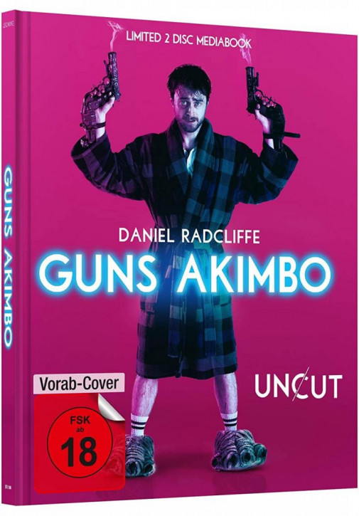 Guns Akimbo - Limited Mediabook Edition [Blu-ray+DVD]