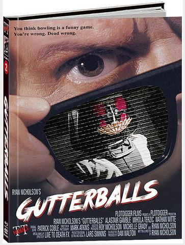 Gutterballs- Limited Mediabook Edition - Cover B [Blu-ray+DVD]