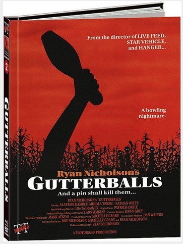 Gutterballs- Limited Mediabook Edition - Cover C [Blu-ray+DVD]