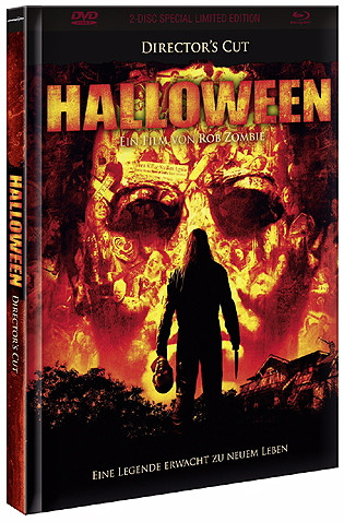 Halloween (2007) - Directors Cut - Limited Edition - Cover B [Blu-ray+DVD]