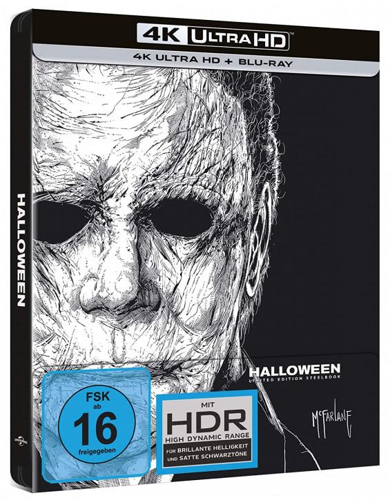 Halloween - Limited Edition Steelbook [4K UHD Blu-ray]