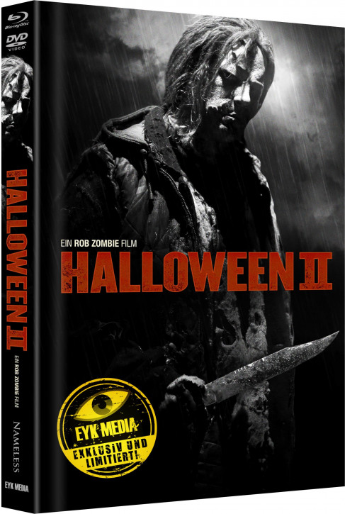 Halloween II (Rob Zombie) - Limited Mediabook - Cover E [Blu-ray+DVD]