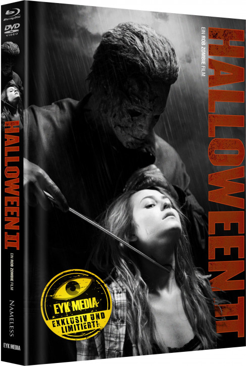 Halloween II (Rob Zombie) - Limited Mediabook - Cover F [Blu-ray+DVD]