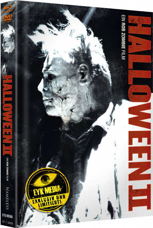 Halloween II (Rob Zombie) - Limited Mediabook - Cover G [Blu-ray+DVD]