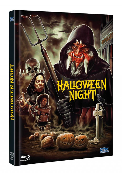 Halloween Night - Limited Mediabook - Cover B [Blu-ray+DVD]