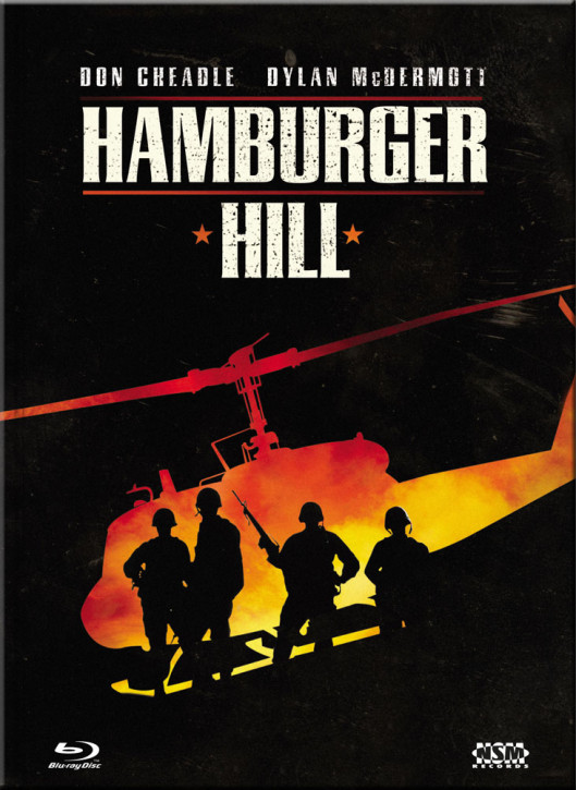 Hamburger Hill - Limited Collector's Edition - Cover A [Blu-ray+DVD]