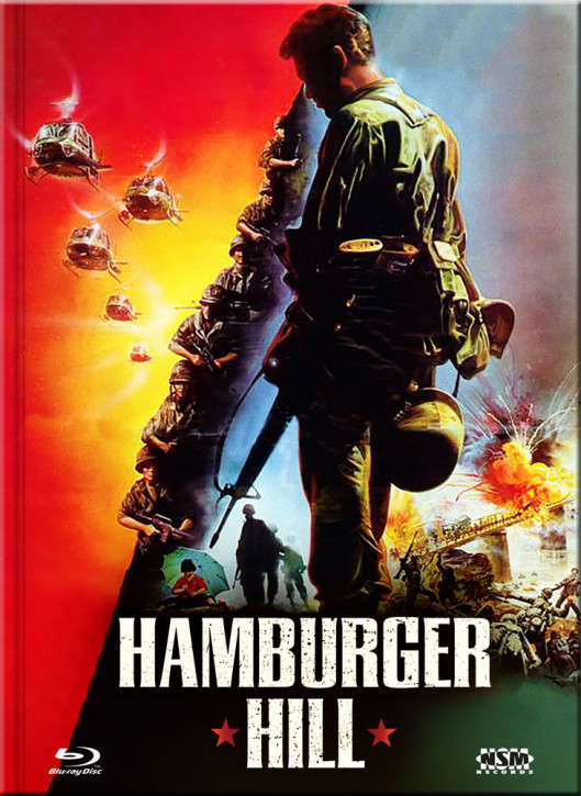 Hamburger Hill - Limited Collector's Edition - Cover D [Blu-ray+DVD]