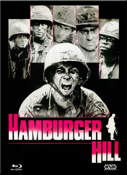Hamburger Hill - Limited Collector's Edition - Cover E [Blu-ray+DVD]