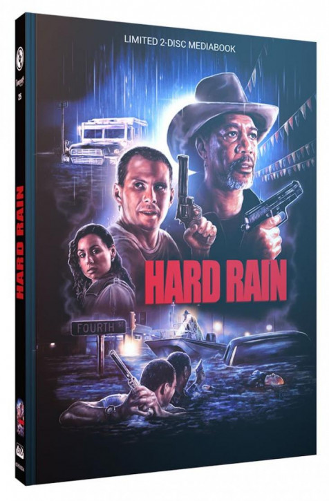 Hard Rain - Limited Mediabook Edition - Cover A [Blu-ray+DVD]
