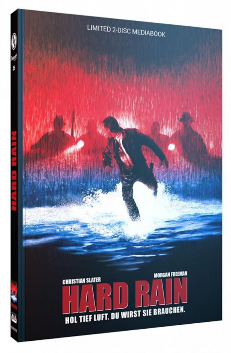 Hard Rain - Limited Mediabook Edition - Cover B [Blu-ray+DVD]
