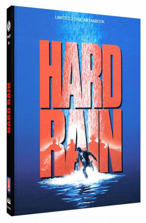 Hard Rain - Limited Mediabook Edition - Cover C [Blu-ray+DVD]