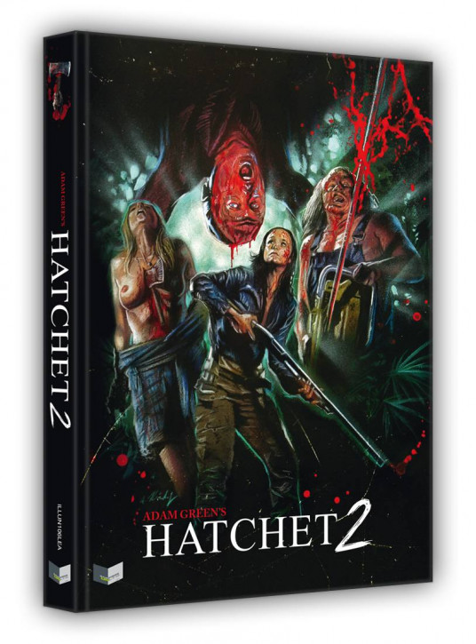 Hatchet 2 - Limited Collectors Edition - Cover A [Blu-ray+DVD]