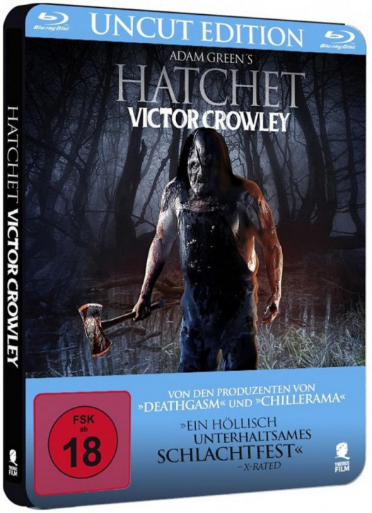 Hatchet - Victor Crowley - Limited Steelbook Edition [Blu-ray]