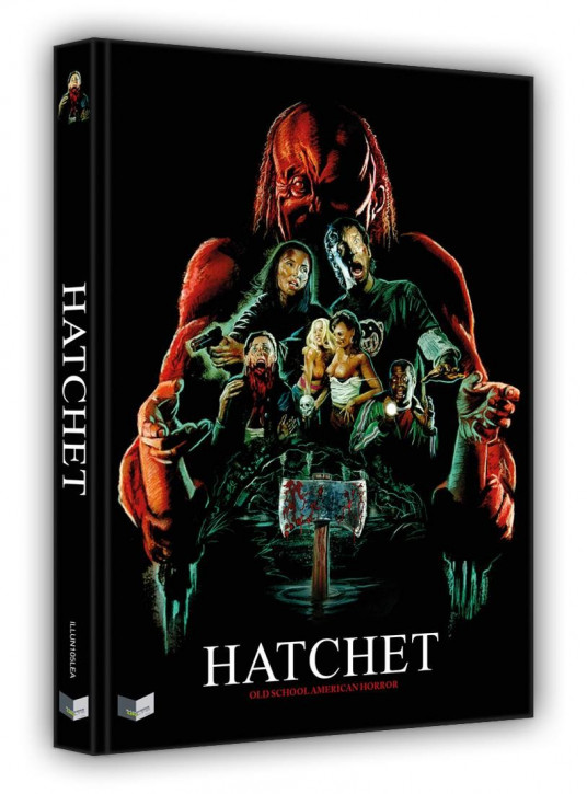 Hatchet - Limited Collectors Edition - Cover A [Blu-ray+DVD]