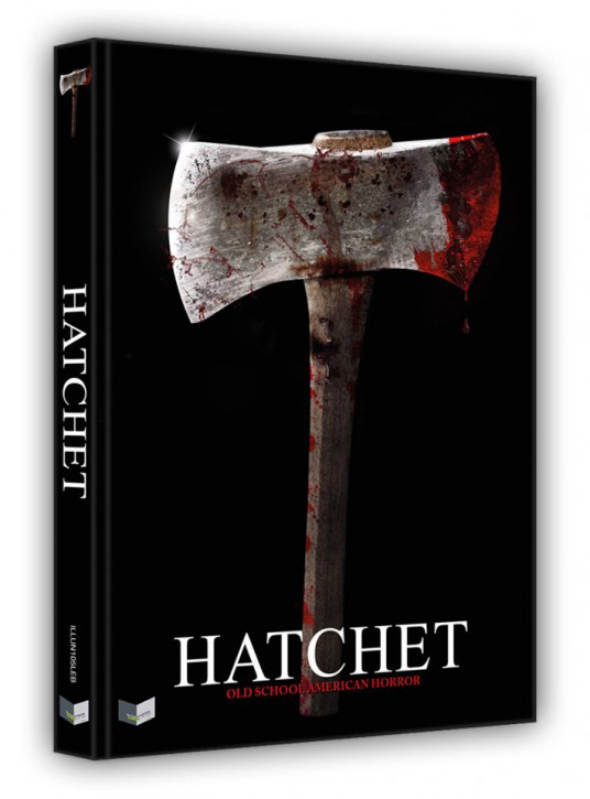 Hatchet - Limited Collectors Edition - Cover B [Blu-ray+DVD]