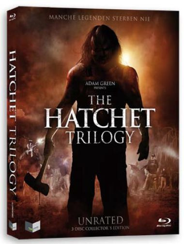 The Hatchet Trilogy - Limited UNRATED Collectors Edition [Blu-ray]