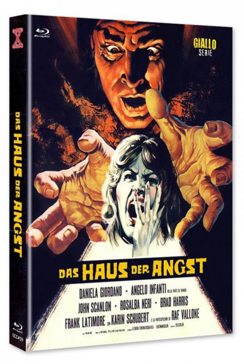 Das Haus der Angst - Euro Cult Collection #59 - Mediabook - Cover A [Blu-ray+DVD]