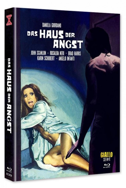 Das Haus der Angst - Euro Cult Collection #59 - Mediabook - Cover B [Blu-ray+DVD]