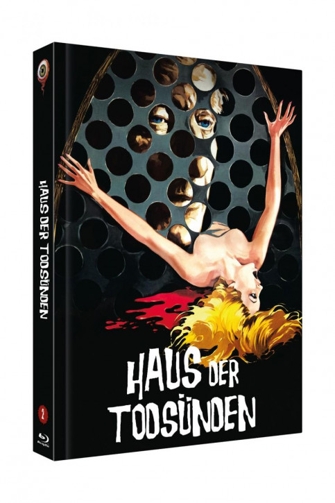 Das Haus der Todsünden - Limited Collectors Edition Mediabook - Cover A [Blu-ray+DVD]