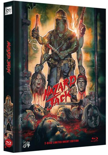 Hazard Jack - Limited Uncut Edition [Blu-ray+DVD]