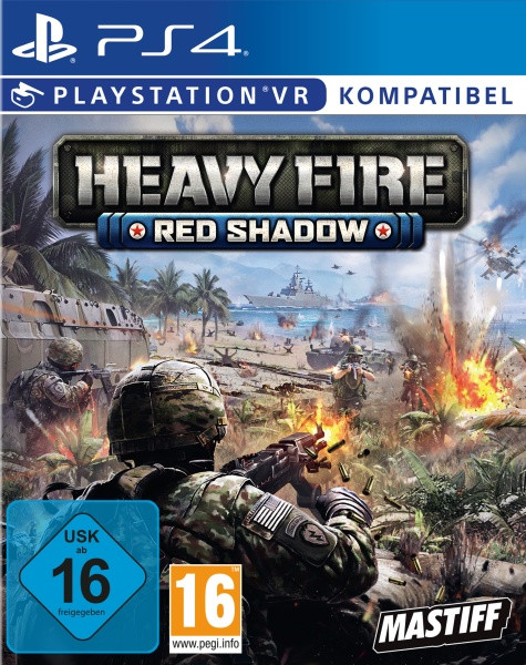 Heavy Fire Red Shadow VR [PS4]